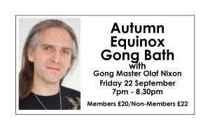 Autumn Equinox Gong Bath
