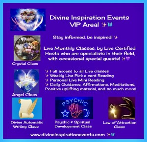 Divine Inspiration Events VIP Area Launch