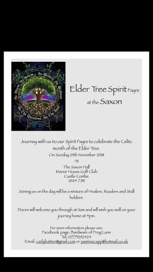 Elder tree spirit fayre