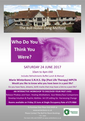 Who Do You Think You Were?  A Past Life Regression Workshop
