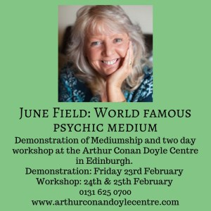 June Field - Demonstration of Mediumship & Two Day Workshop